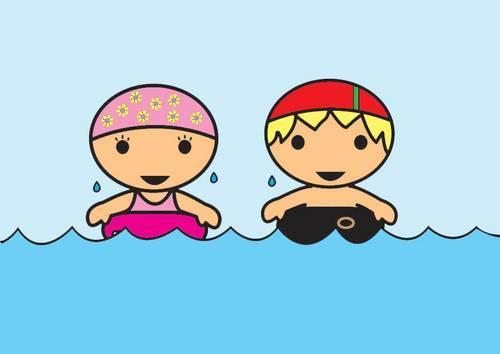 Endelig er det tid for frisvømming igjen!