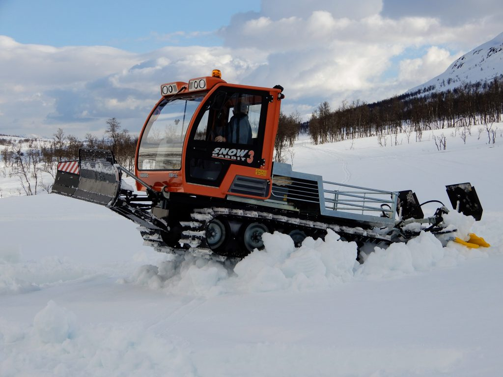 Den nye Snow Rabbit 3 tråkkemaskin er kommet og vi har fått tatt en liten prøve tur med den.
